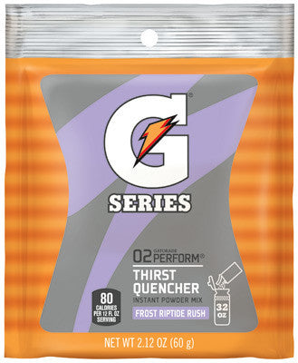 Gatorade 2.12 Ounce Instant Powder Pouch Riptide Electrolyte Drink - Yields 1 Quart (144 Packets Per Case)