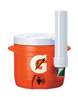 Gatorade 7 Gallon Cooler/Dispenser With Fast Flow Faucet And Carry Handle
