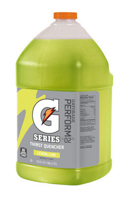 Gatorade 1 Gallon Liquid Concentrate Lemon Lime Electrolyte Drink - Yields 6 Gallons (4 Each Per Case)