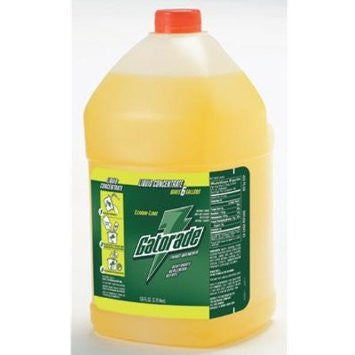 Gatorade 1 Gallon Liquid Concentrate Fruit Punch Electrolyte Drink - Yields 6 Gallons (4 Each Per Case)