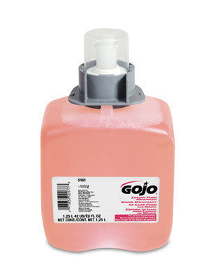 GOJO 1250 ml Refill Translucent Pink FMX-12 Cranberry Scented Luxury Foam Handwash