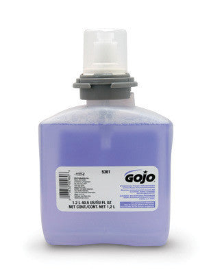 GOJO 2000 ml Refill Translucent Pink FMX-20 Cranberry Scented Luxury Foam Handwash