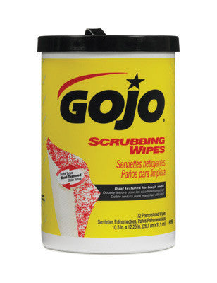 GOJO 72 Count Canister Scrubbing Wipes