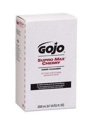 GOJO 2000 ml Refill SUPRO MAX Cherry Scented Hand Cleaner
