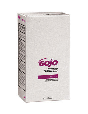 GOJO 5000 ml Refill Pink RICH PINK Antibacterial Lotion Soap