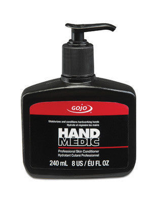 GOJO 8 Ounce Bottle HAND MEDIC Professional Skin Conditioner
