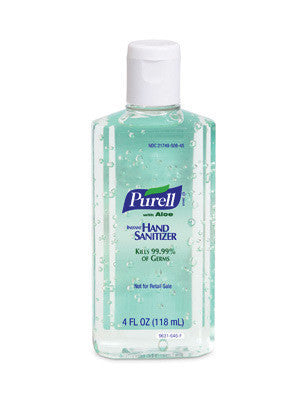 GOJO 4 Ounce Bottle PURELL Instant Hand Sanitizer With Aloe