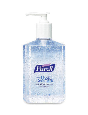 GOJO 8 Ounce Pump Bottle PURELL Instant Hand Sanitizer