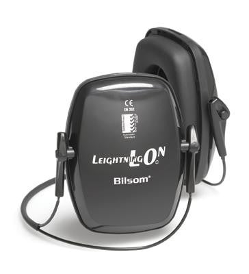 Howard Leight Leightning L0N Black Metal Neckband Noise Blocking Earmuffs