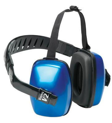 Howard Leight Viking V2 Dark Blue Dielectric Multi Position Noise Blocking Earmuffs