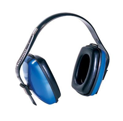 Howard Leight Viking V1 Light Blue Plastic Multi Position Noise Blocking Earmuffs