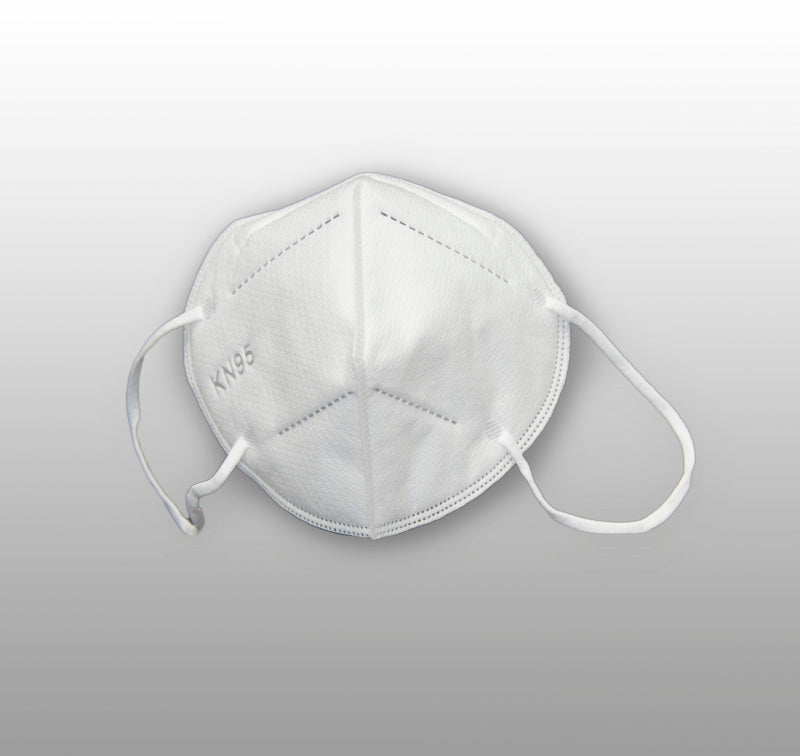 KN95 PROTECTIVE FACE MASKS - 5 PER PACKAGE