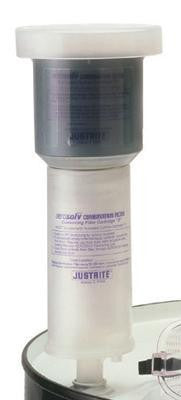 Justrite Aerosolv Replacement Activated Carbon Cartridge For Aerosolv Aerosol Can Disposal System (2 Per Package)