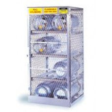 "Justrite 65"" X 30"" X 32"" 8 Cylinder Horizontal Storage Locker For Flammables"