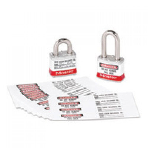 "Master Lock 7/8"" Photo Identification Lables For Number 3, 6835, 6836 And A1100 Series Padlocks (50 Labels Per Package)"
