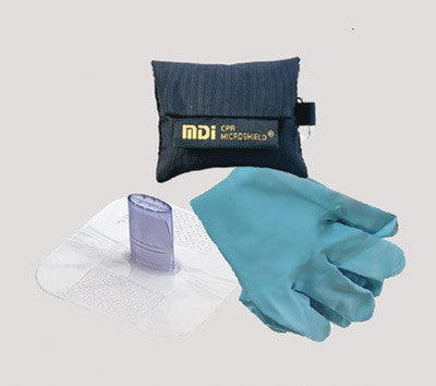 MDI CPR MicroKey-Pro CPR Kit With Gloves