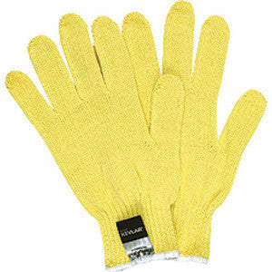 Memphis Large Yellow Kevlar Cut Resistant Gloves With Knit Wrists