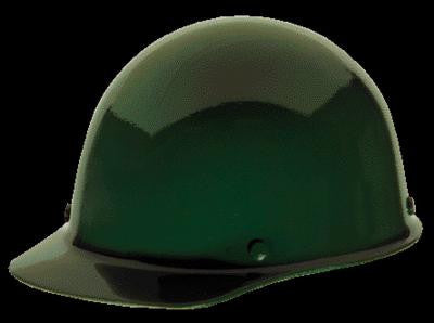 MSA Green Skullgard Class G Type I Phenolic Hard Cap With Staz-On Suspension