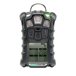 MSA ALTAIR 4X Portable Combustible Gas, Oxygen, Hydrogen Sulfide And Carbon Monoxide Monitor With Motion Alert