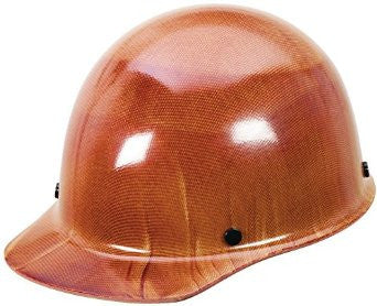 MSA Natural Tan Skullgard Class G Type I Phenolic Hard Cap With Swing-Ratchet Suspension