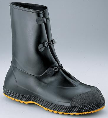 "Servus by Honeywell Medium SF Super-Fit Black 12"" PVC Overboots"