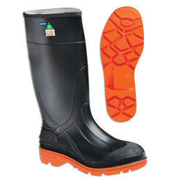 "Servus by Honeywell Size 8 PRM Black 15"" Kneeboots With Self Cleaning Outsole And Steel Toe"