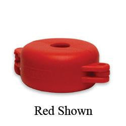 "North V-Safe Red Valve Wheel Lockout For Valve Wheels Up To 2-1/2"" In Diameter"