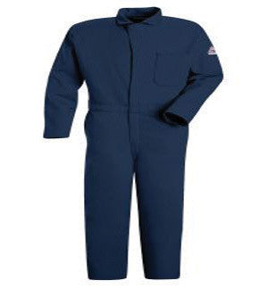 Bulwark Navy Blue 58 Regular Flame Resistant Coveralls