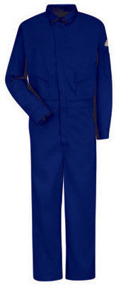 Bulwark Navy Blue 46 Regular Flame Resistant HRC2 Coveralls