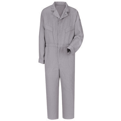 Bulwark Gray 40 Regular Flame Resistant HRC2 Coveralls