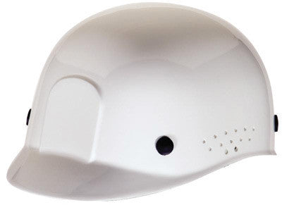 Radnor White Polyethylene Bump Cap  With Adjustable Headband
