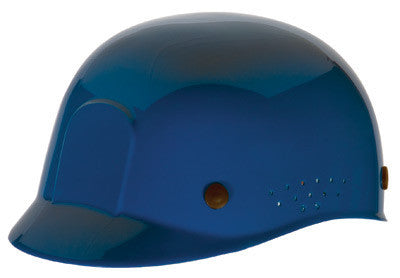 Radnor Blue Polyethylene Bump Cap  With Adjustable Headband