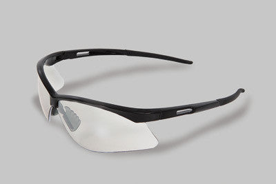 Radnor Premier Series Safety Glasses With Black Frame And Clear Polycarbonate Indoor/Outdoor Lens