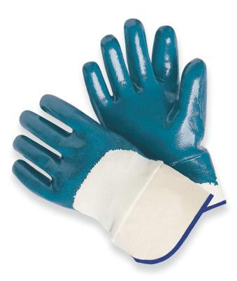 Radnor Large Light Weight Nitrile Palm Coated Jersey Lined Work Glove With Knit Wrist (144 Pair Per Case)