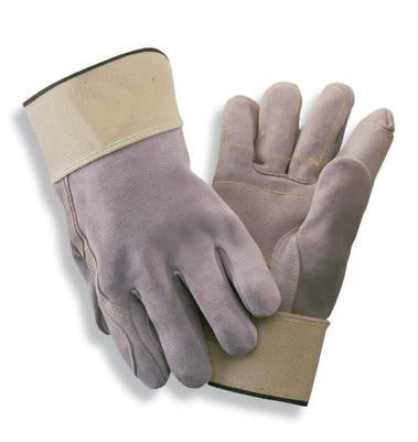 Radnor Large Grain Goatskin Unlined Drivers Gloves With Straight Thumb, Slip-On Cuff, Color-Coded Hem And Shirred Elastic Back