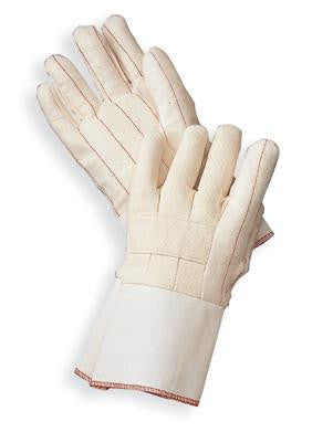Radnor Standard-Weight Nap-Out Hot Mill Glove With Gauntlet Cuff