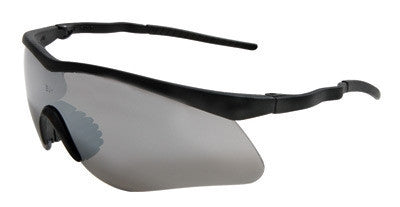 Radnor Sport Series Safety Glasses With Black Frame And Gray Anti-Scratch Lens