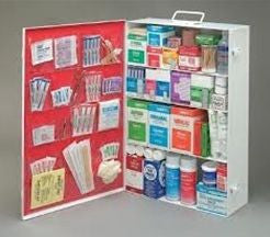 Radnor 50 Person Bulk Sturdy Metal First Aid Cabinet