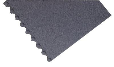"Superior Manufacturing Notrax 3' X 3' Black Cushion-Ease Solid 3/4"" Thick Wet/Dry Area Anti-Fatigue Floor Mat"