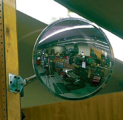 "Se-Kure View 12"" Outdoor Convex Mirrors"