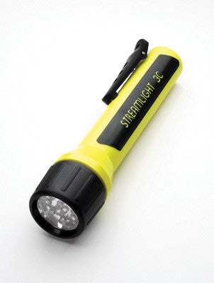 Streamlight Yellow ProPolymer 3C Luxeon Division 1 LED Flashlight (Requires 3 C Batteries - Sold Seperately) (Blister Packaged)