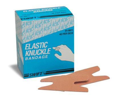 Swift First Aid Woven Knuckle Adhesive Bandage (40 Per Box)