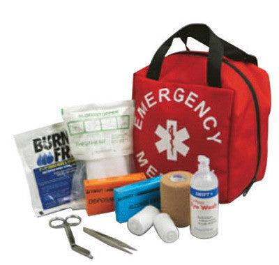 "Swift First Aid 8"" X 8"" X 7"" Standard Emergency Medical Kit"