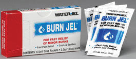 Water-Jel Technologies 3.5 Gram Unit Dose Packet Burn Jel Topical Gel (6 Per Box)