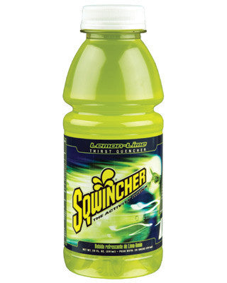 Sqwincher 20 Ounce Wide Mouth Ready To Drink Bottle Lemon Lime Electrolyte Drink (24 Each Per Case)