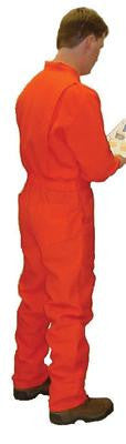 Stanco Safety Products Orange Large Flame Retardant Cotton Coveralls