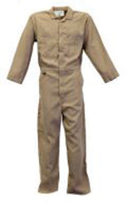 Stanco Safety Products Tan 2X Flame Resistant 4.5 oz Nomex Coveralls