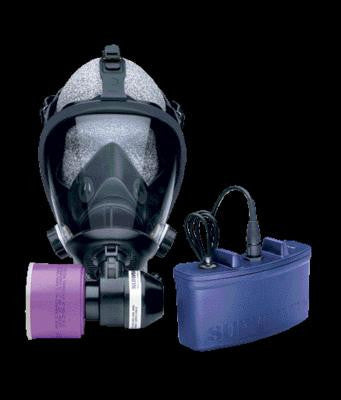 Survivair Large Opti-Fit Mask Mounted Powered Air Purifying Respirator
