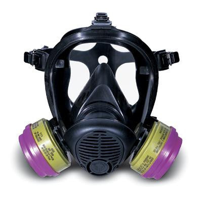Survivair Small Silicone Opti-Fit Full Face S-Series Facepiece