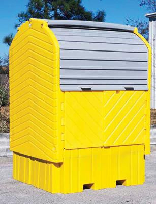 UltraTech Ultra- IBC HardTop 360 Gallon Capacity Without Drain,